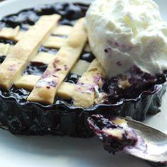Blueberry-Maple Tartelettes