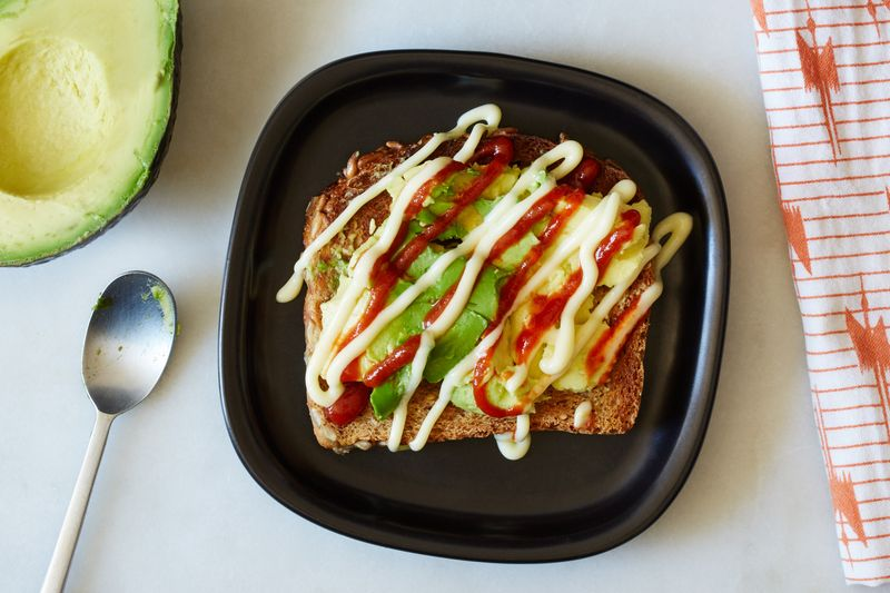The ultimate in avocado toast