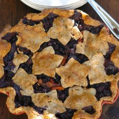Blueberry-Apricot with Whole Wheat & Flax Crust