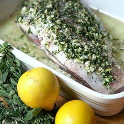 Greek-Style Marinated Leg of Lamb
