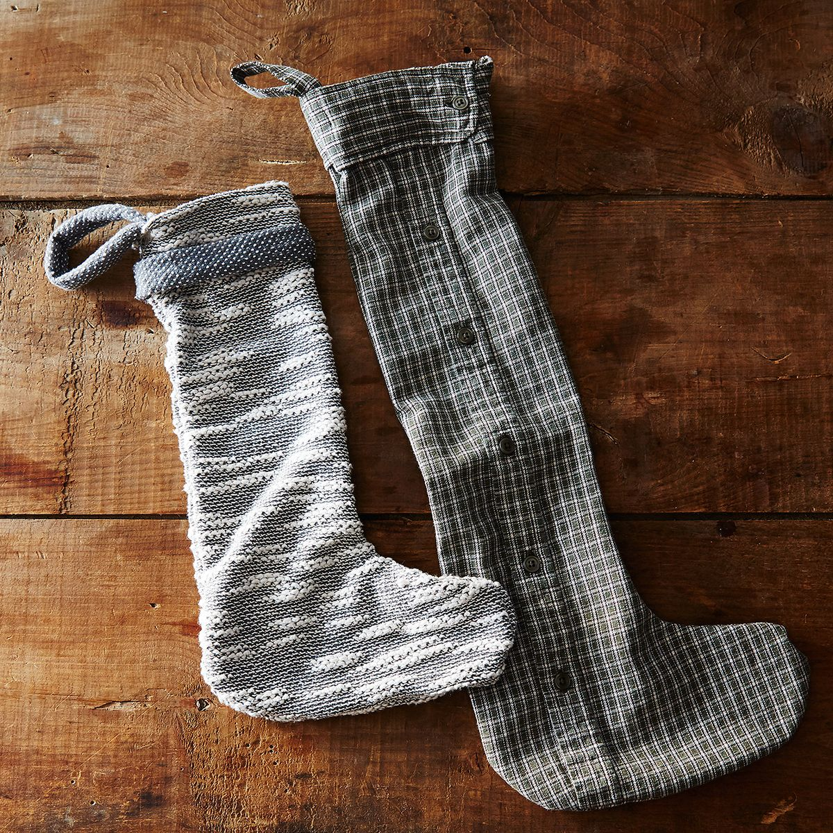 1d102791b3393 How to Upcycle Soft Old Sweaters and Shirts into Stockings