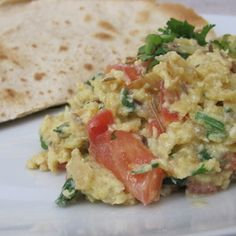 'Khagina': Aromatic Scrambled Eggs the Afghani / Pakistani way