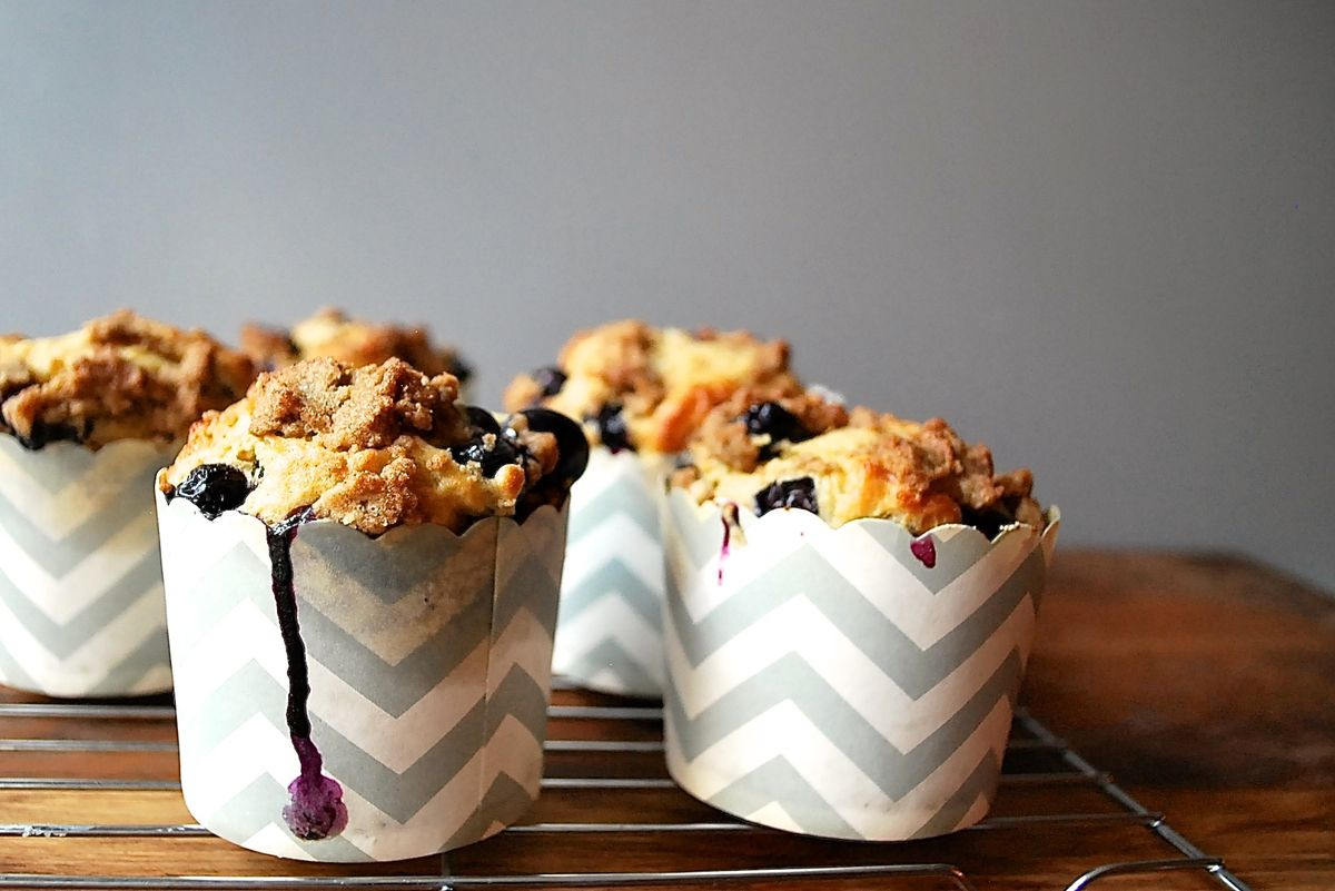 Perfect Blueberry Muffins Recipe