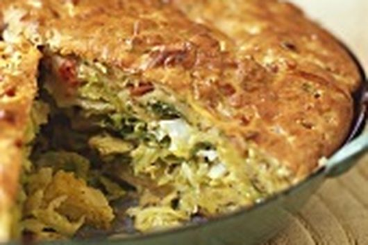 Delicious Savory Cabbage Pie