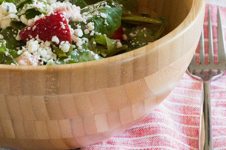 Strawberry Lime Vinaigrette Salad