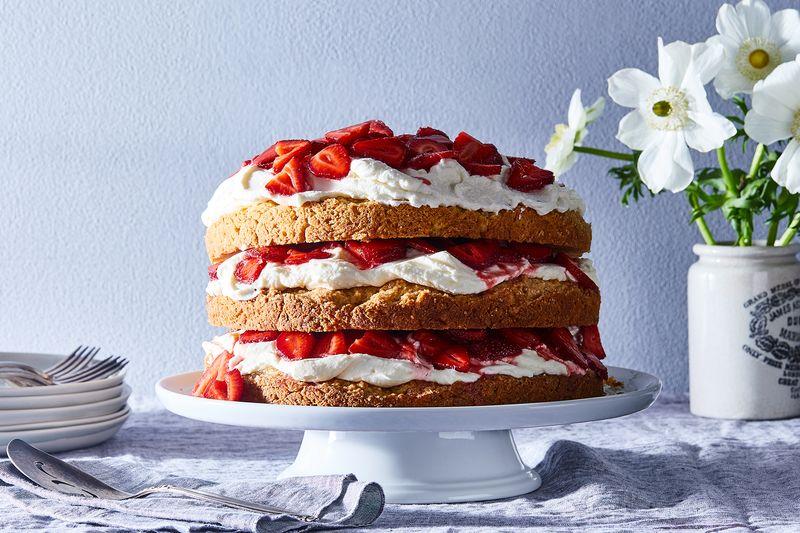 Erin McDowell's Strawberry Not-So-Short Cake