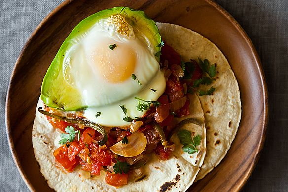 Avocado and Huevos Rancheros on Food52