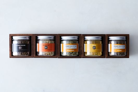 Modular Magnetic Walnut Spice Rack