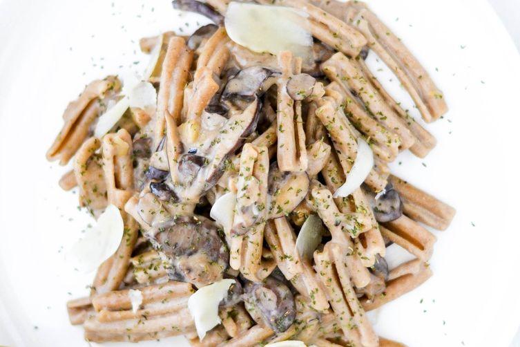 Creamy One-Pot Wild Mushroom Pasta