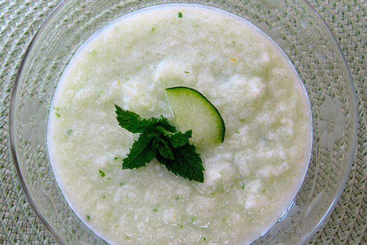 Cucumber Honeydew Soup