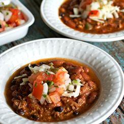 Beef and Chorizo Chili