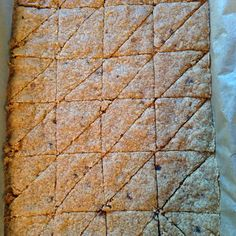 Double Ginger Shortbread