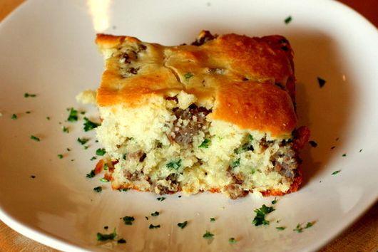 Savory Sausage Breakfast Cake