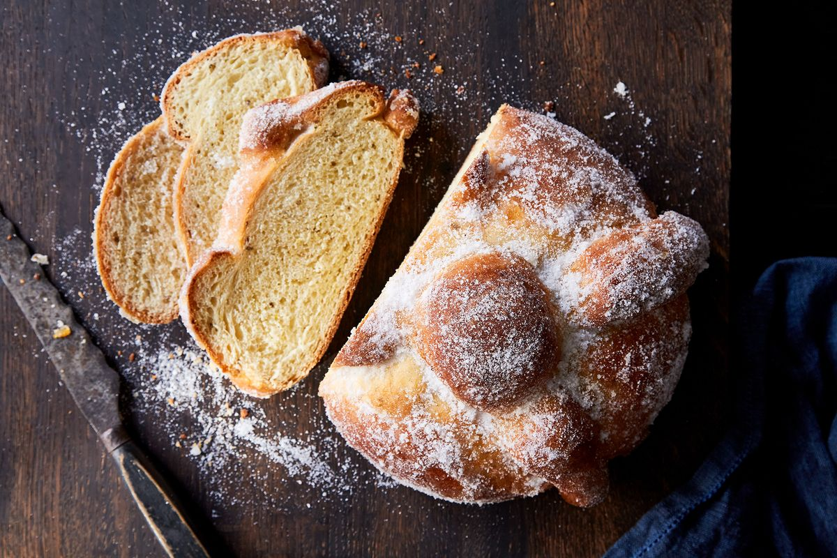 How To Make Pan De Muerto Day Of The Dead Bread