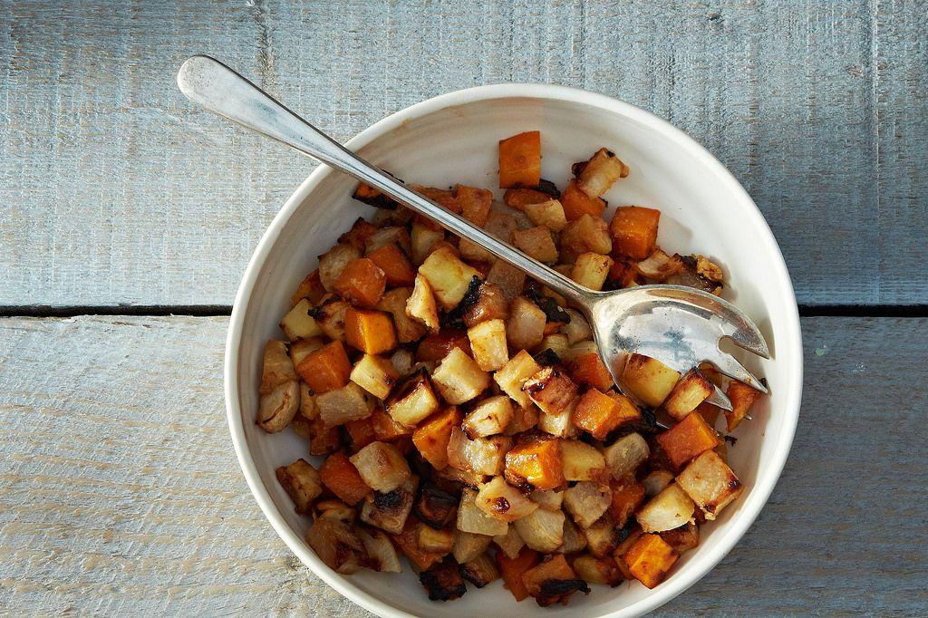 Miso Roasted Vegetables