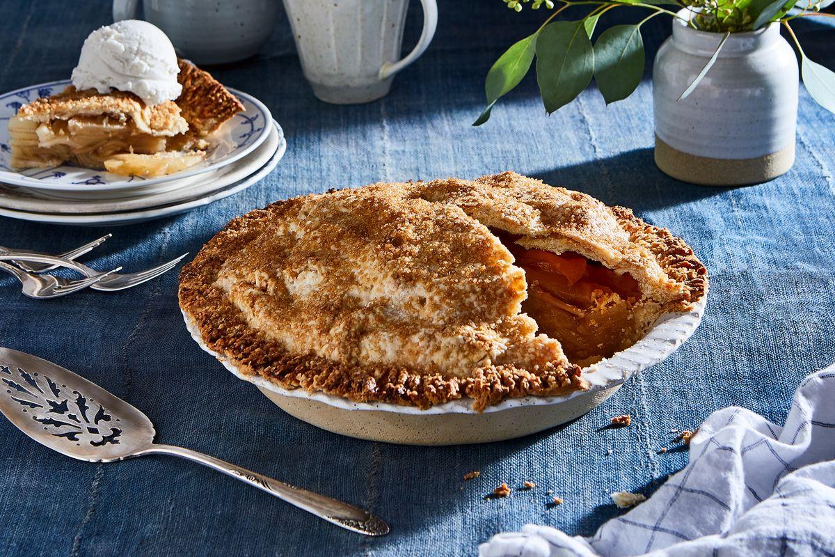 Receita da minha família - torta de maçã de Arthur 17