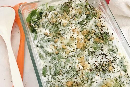 Purslane Salad (semizotu salatasi)