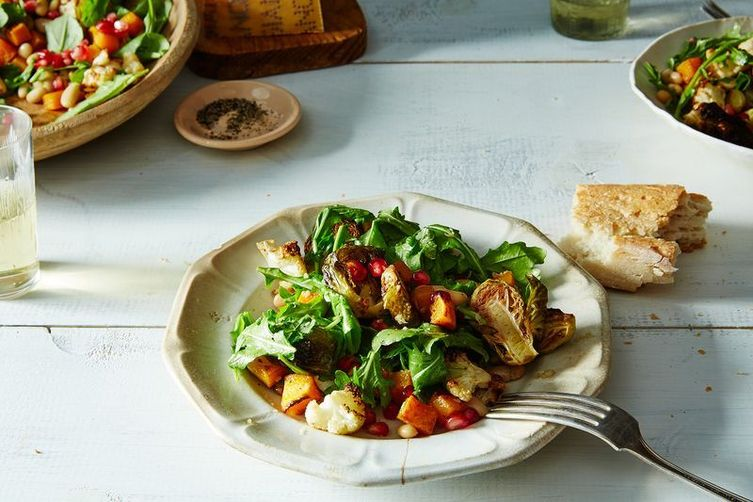 Autumn Salad with Horseradish Vinaigrette
