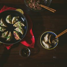 Vegetarian and Pork Dumpling Fillings