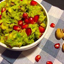 Green goodness- my favorite guacamole
