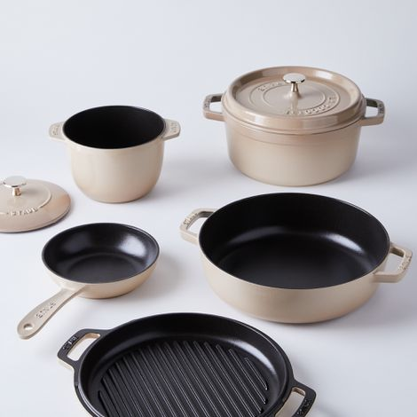 Food52 x Staub Sesame Cookware Collection