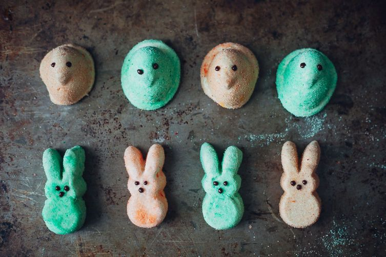 Homemade marshmallow Peeps on Food52