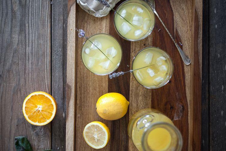 Citrus Lavender Schorle
