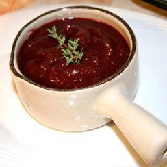 Cranberry, Cherry & Port Sauce