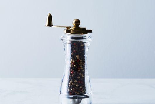 24k Gold & Acrylic Spice Mill