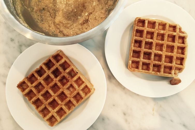 Whipped Whole Wheat Waffles