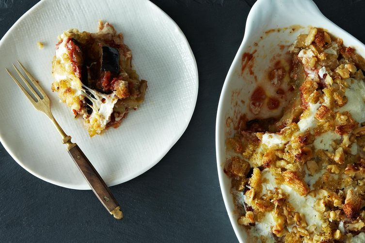 Yotam Ottolenghi's Sweet Corn Polenta with Eggplant Sauce by Genius ...