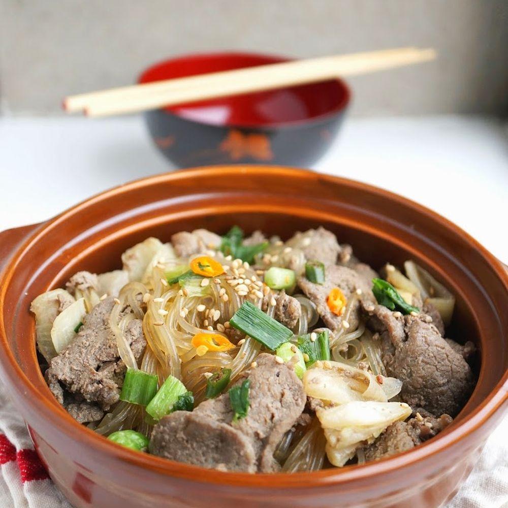 Bulgogi Potato Noodles Recipe on Food52