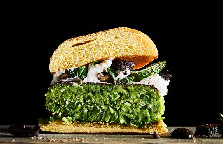 The Greenest Veggie Burger Starts with This Freezer Staple