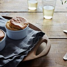 Simple Cheese Soufflé