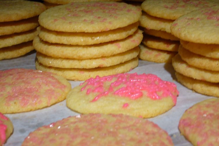 Chewy Sugar Cookies #1