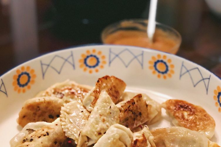 Gyoza Dumplings: The Pretty Feed