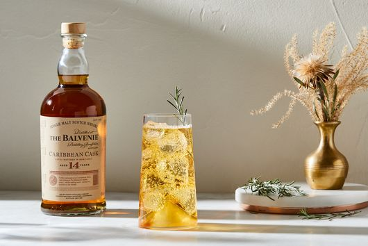 Sparkling Scotch Highball