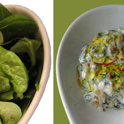Spinach Borani (Borani 'ye Esfenaj) | A Dish Fit for a Persian Queen