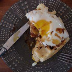 Kaya Toast Waffles