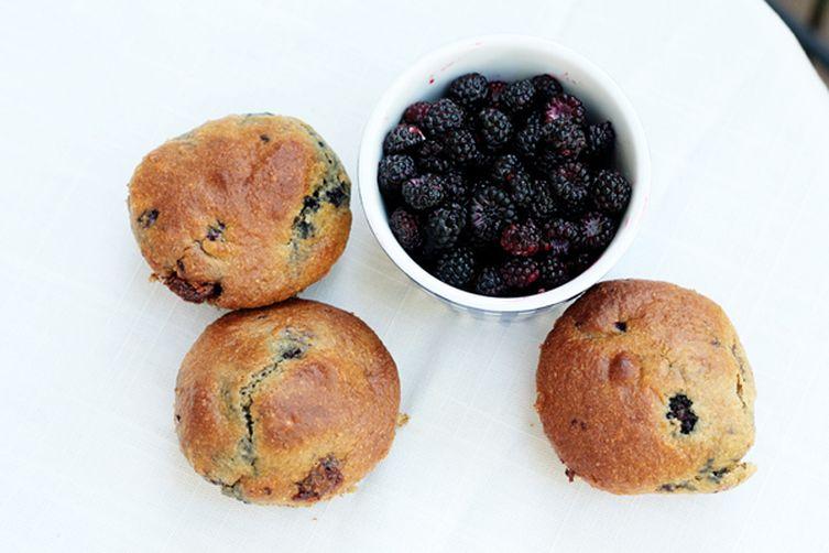 Whole Wheat Raspberry Muffins