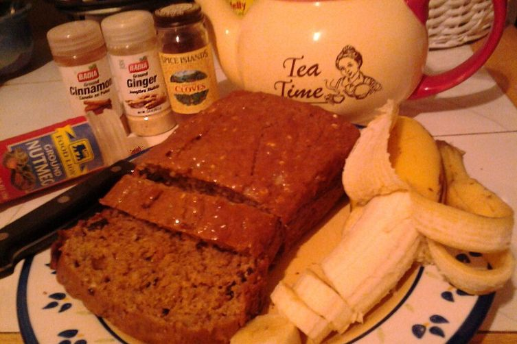 Old-Fashioned Banana Spice Bread