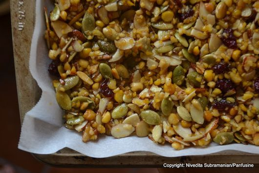 Chickpea energy bars (Okkarai)