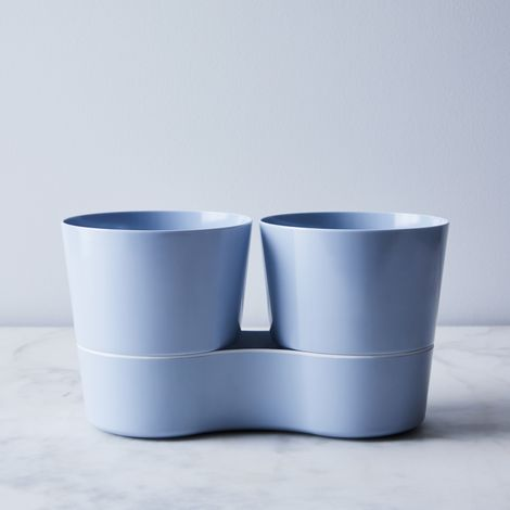 Self-Watering Double Herb Pot