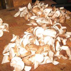 Mushroom Chestnut Risotto