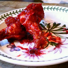 Blackberry Chipotle Wings