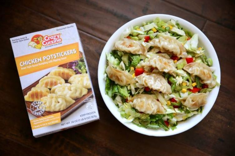 Chicken Potsticker Salad