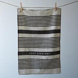 Striped Everyday Tea Towel