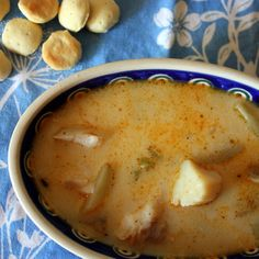 White Fish & Scallop Chowder