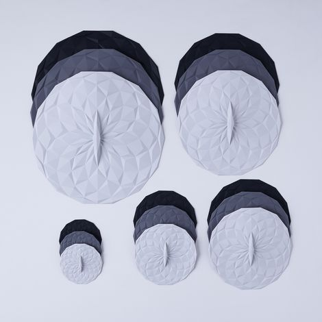 Round & Rectangular Silicone Lids Sets