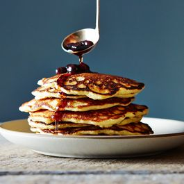 Crisp and Tender Almond Flour Pancakes